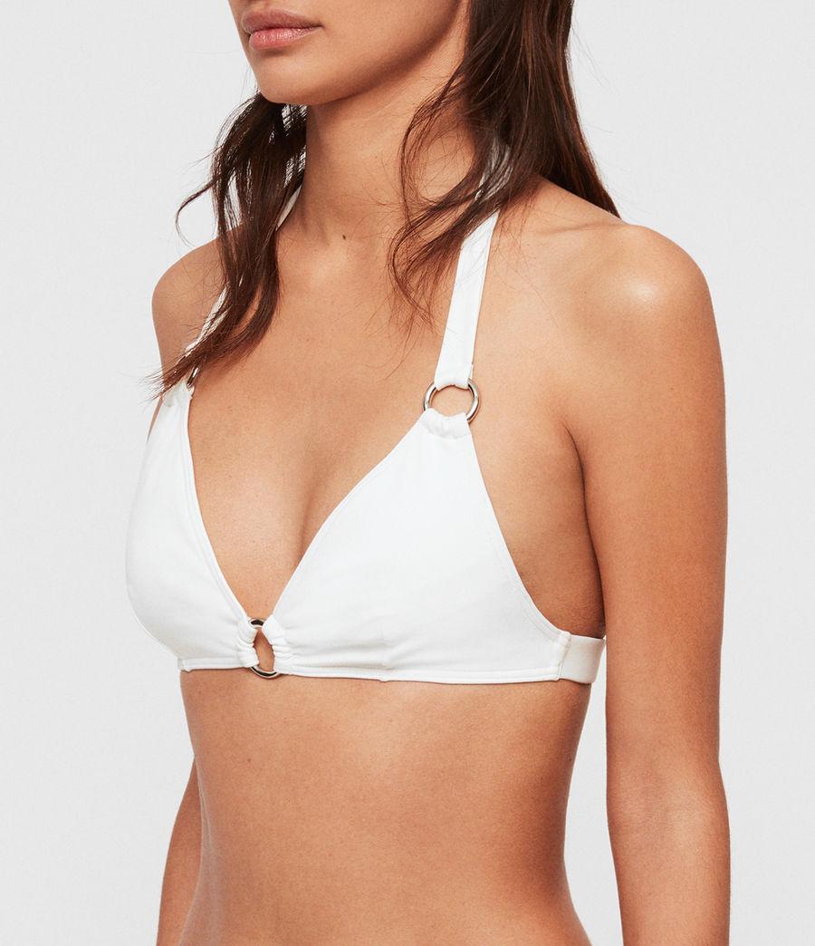 Women's Harlo Bikini Top (white) - Image 2
