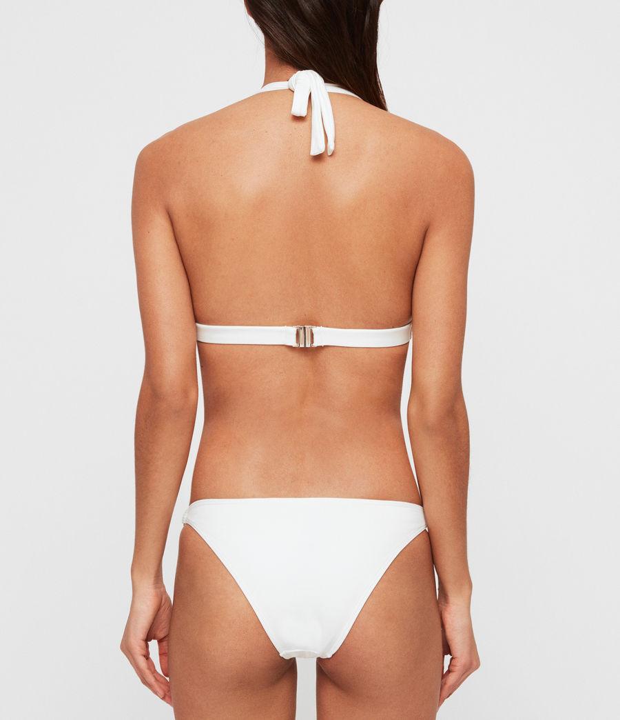 Women's Harlo Bikini Top (white) - Image 3