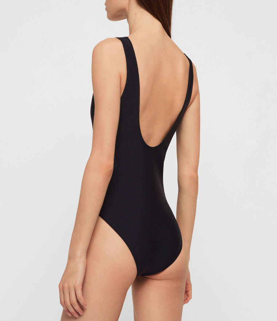 Women's Chezza Swimsuit (black) - Image 4