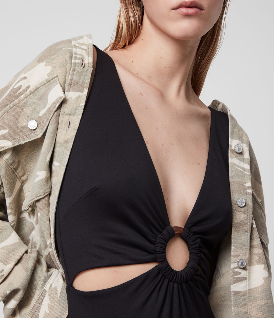 Womens May Swimsuit (black) - Image 3
