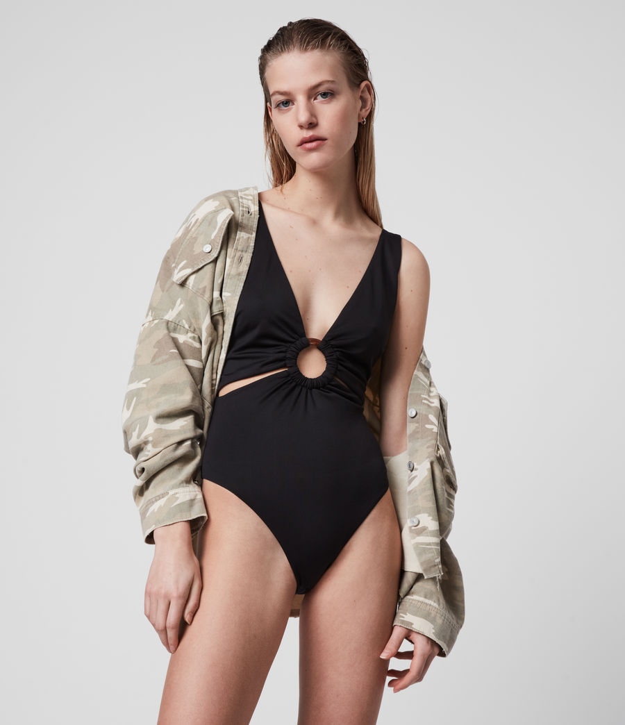 Womens May Swimsuit (black) - Image 4