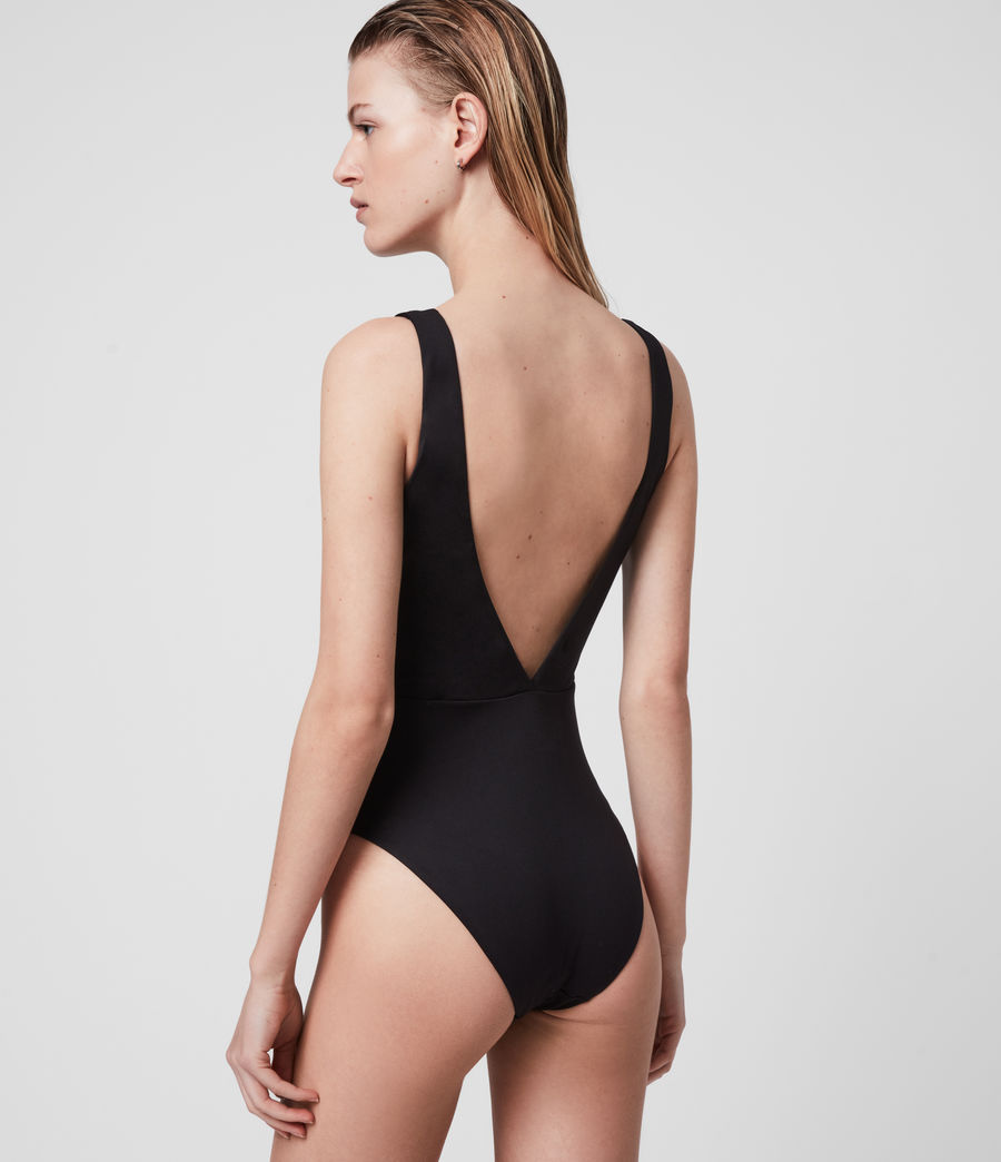 Womens May Swimsuit (black) - Image 5