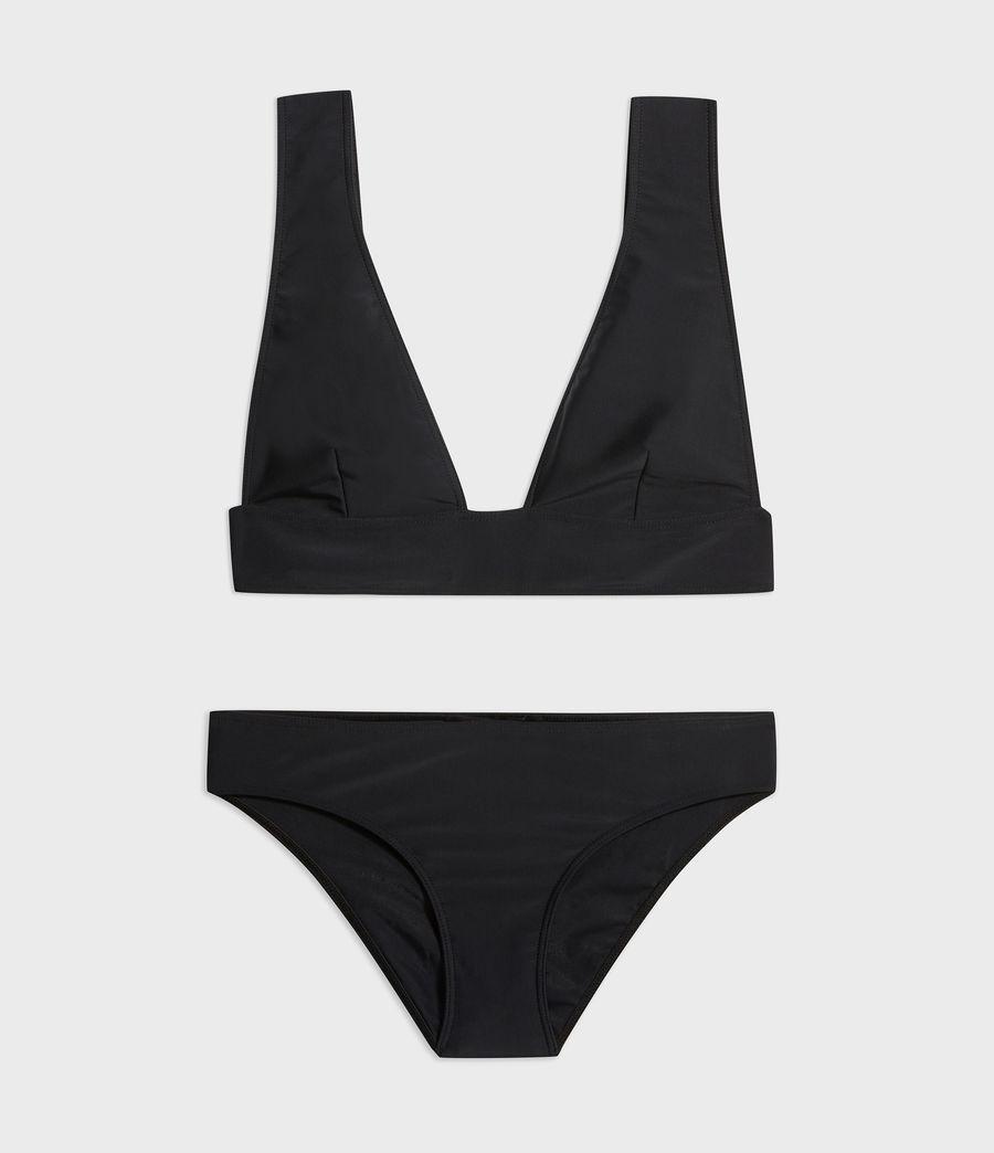 Womens Gina Bikini Top (black) - Image 6