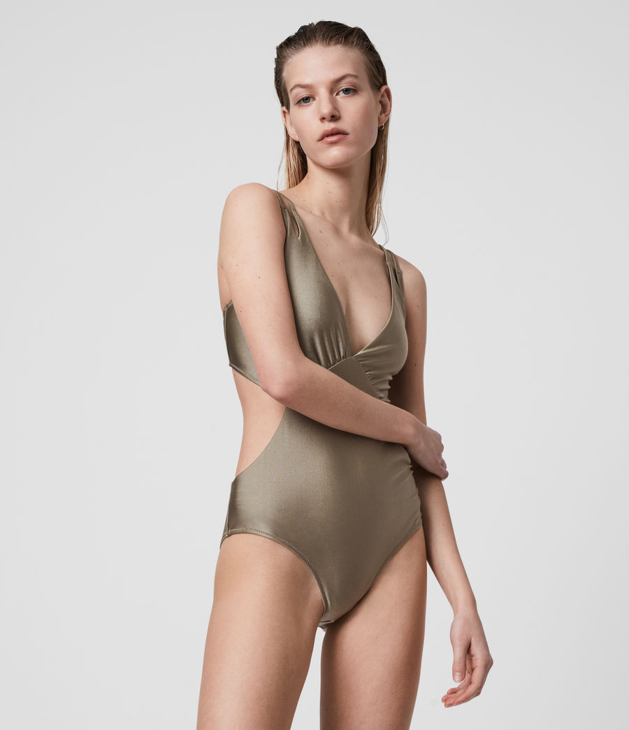 Mujer Sayers Swimsuit (planet_grey) - Image 2