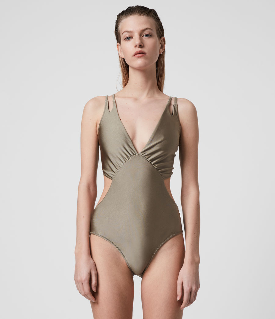 Mujer Sayers Swimsuit (planet_grey) - Image 4