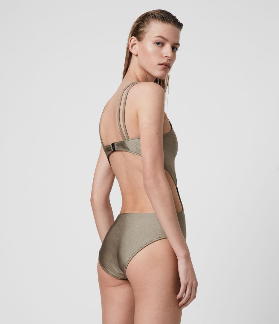 Mujer Sayers Swimsuit (planet_grey) - Image 5