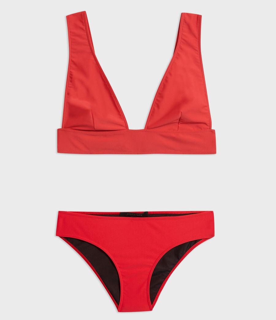 Mujer Braguita de Bikini Gina (red) - Image 7