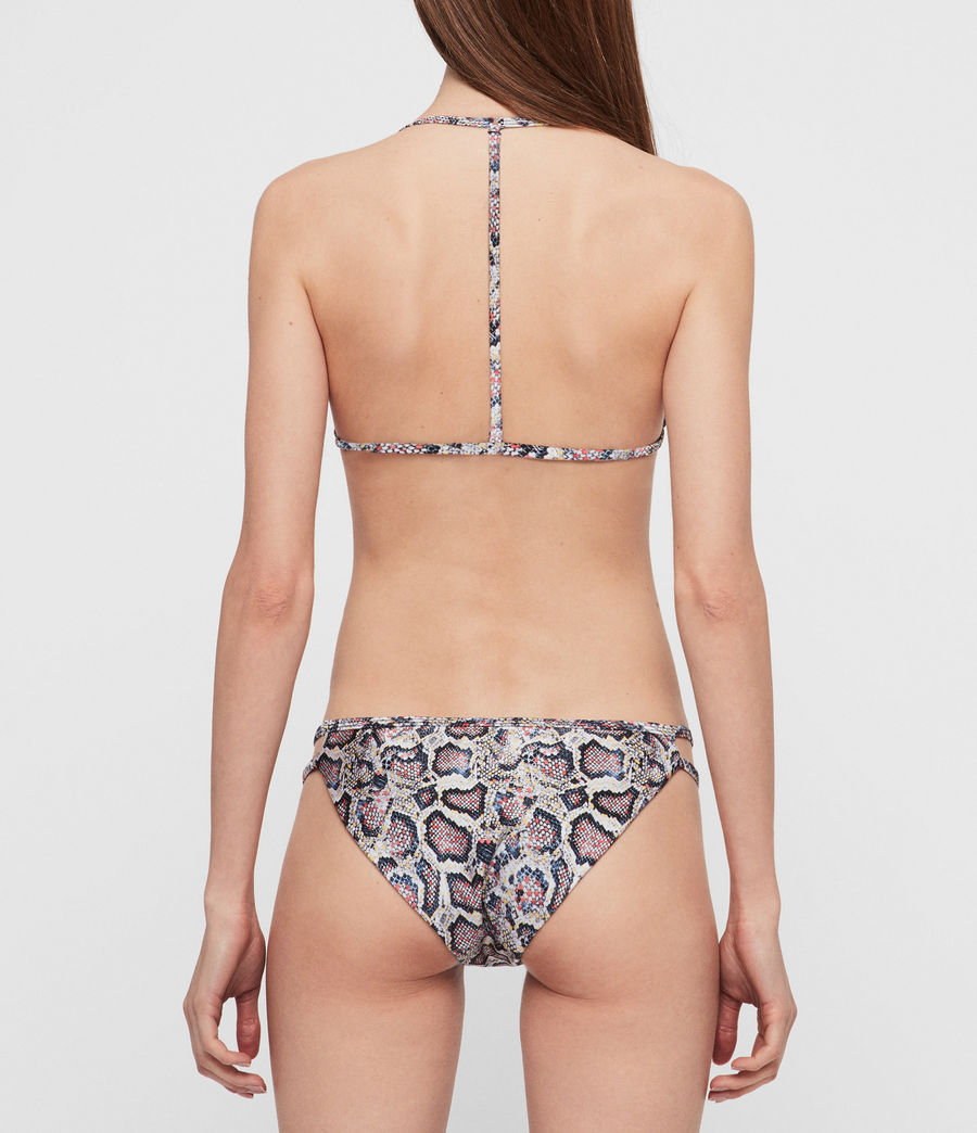 Mujer Top de Bikini Agnes Misra (grey) - Image 3
