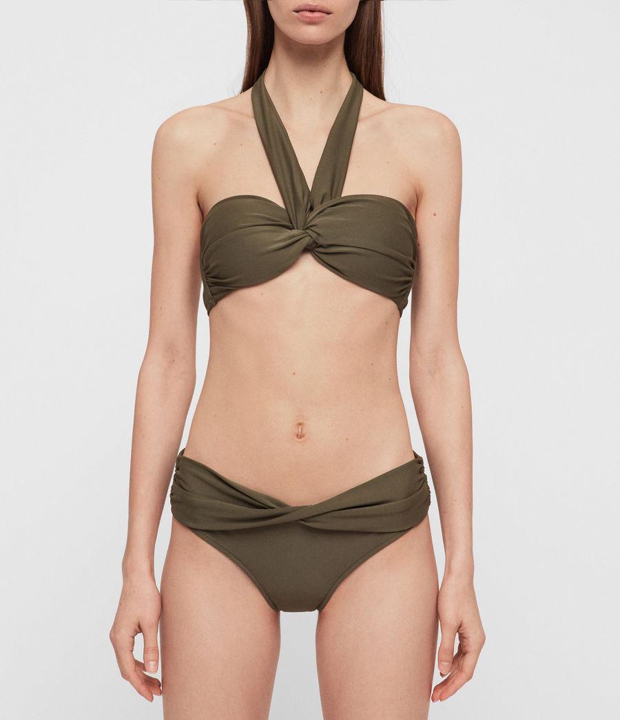 e774e6dc4f ALLSAINTS UK: Womens Libbie Bikini Top (khaki)