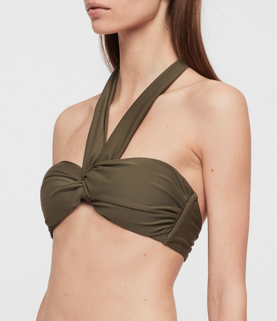 Mujer Top de Bikini Libbie (khaki) - Image 2