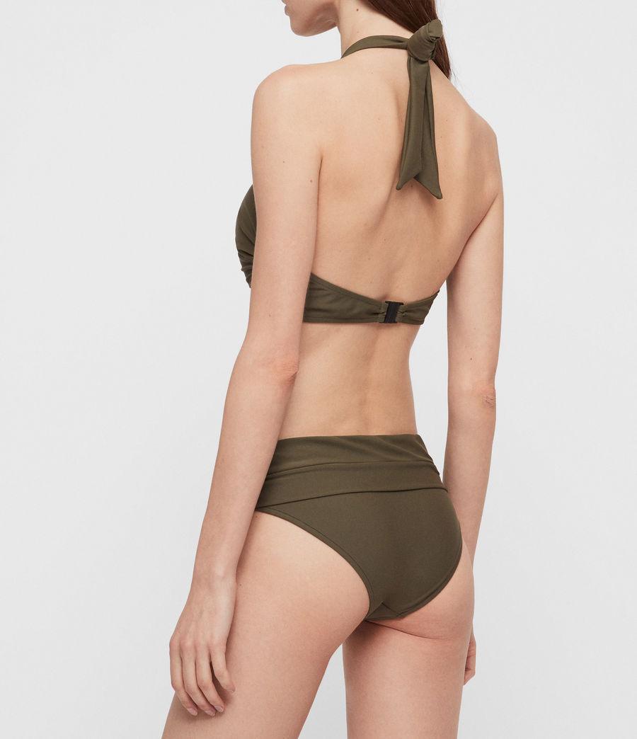 Mujer Top de Bikini Libbie (khaki) - Image 3