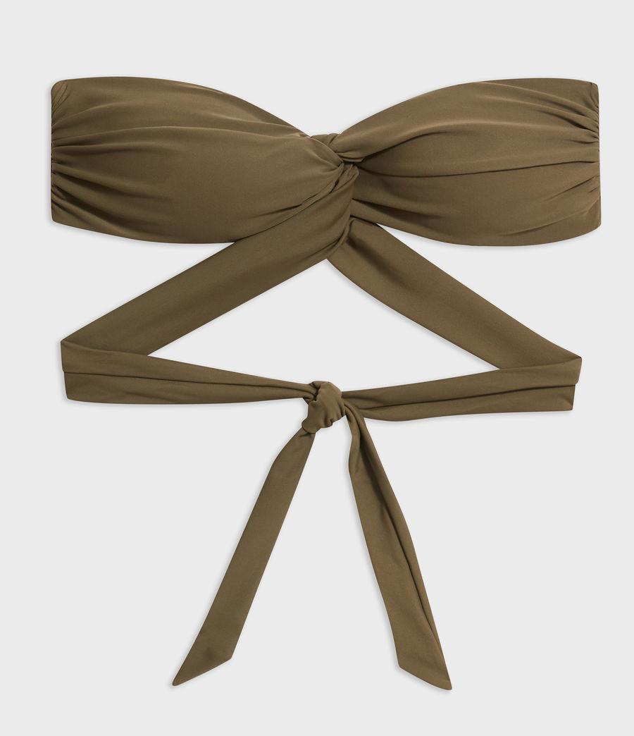 Mujer Top de Bikini Libbie (khaki) - Image 4