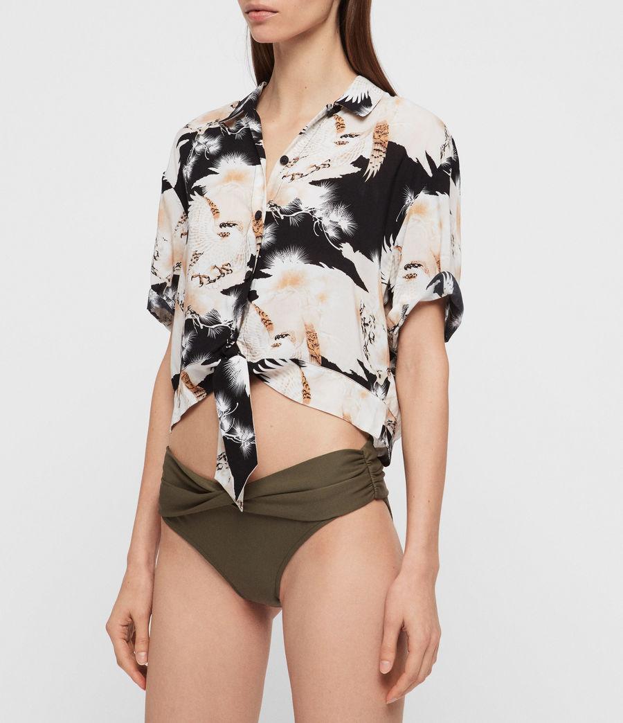 Womens Libbie Bikini Bottoms (khaki) - Image 1