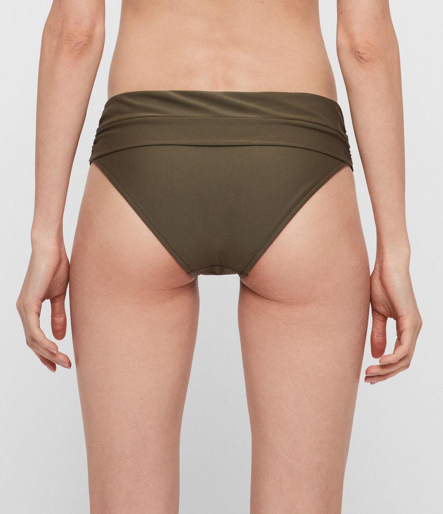 Womens Libbie Bikini Bottoms (khaki) - Image 4