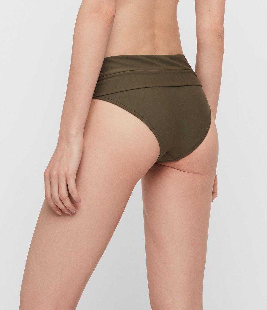 Womens Libbie Bikini Bottoms (khaki) - Image 5