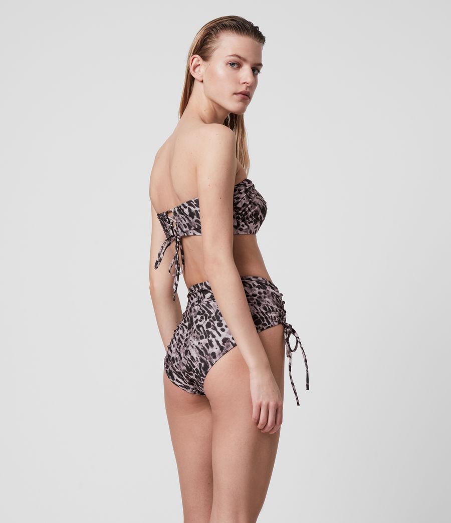 Womens Lazo Ambient Bikini Top (grey) - Image 5