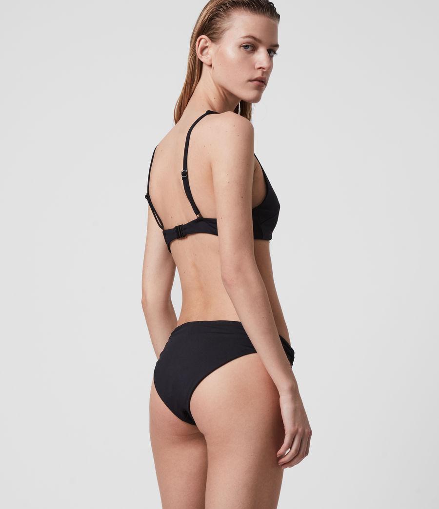 Mujer May Bikini Top (black) - Image 4