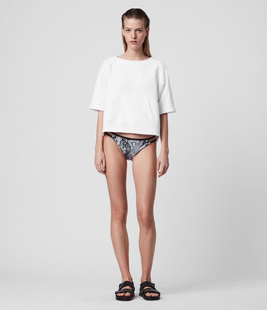 Womens Cara Masala Bikini Bottoms (silver_grey) - Image 3