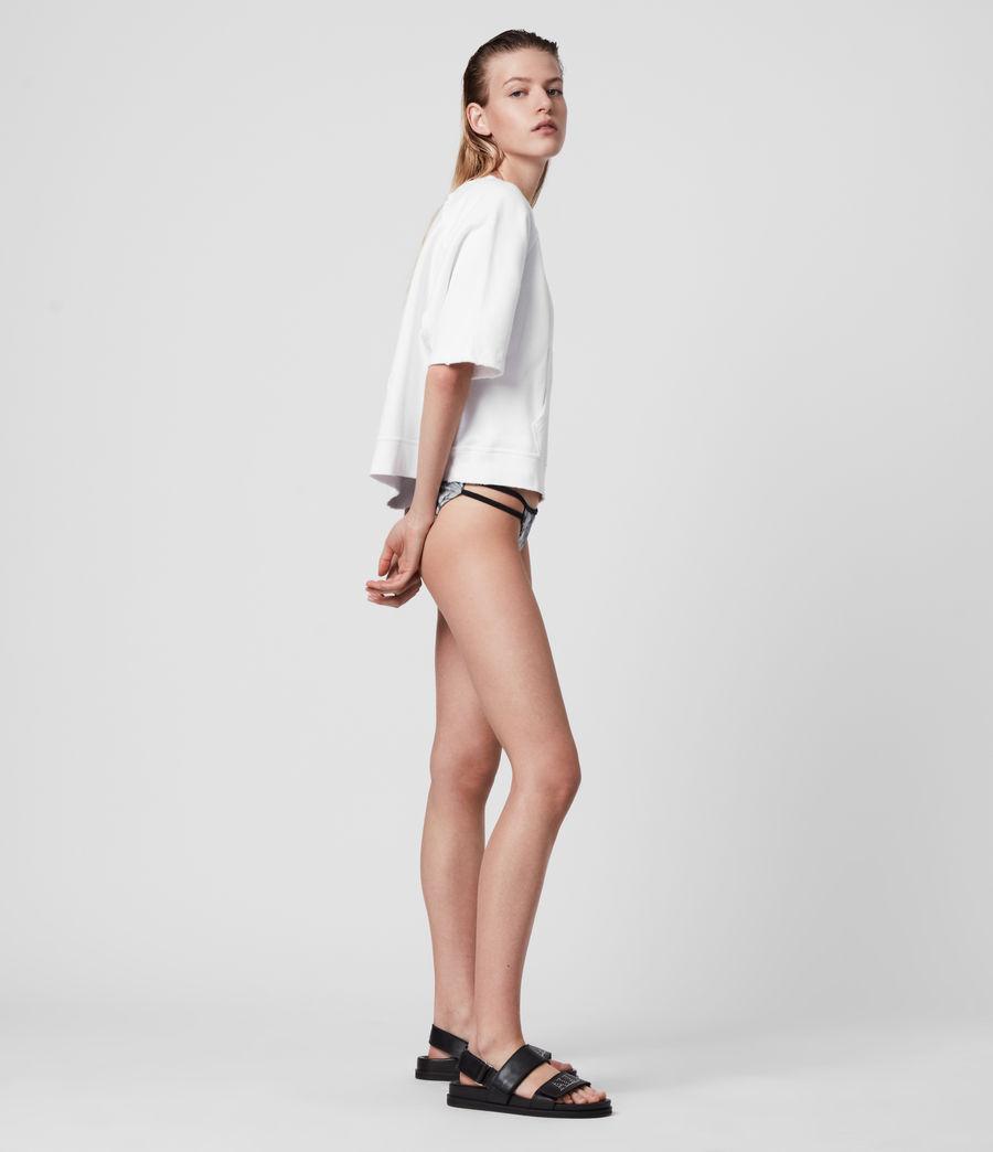 Womens Cara Masala Bikini Bottoms (silver_grey) - Image 4
