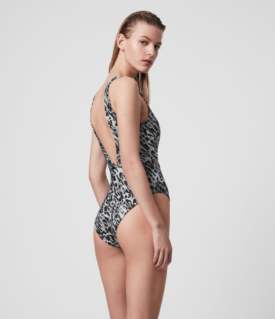 Womens May Ambient Swimsuit (grey) - Image 5