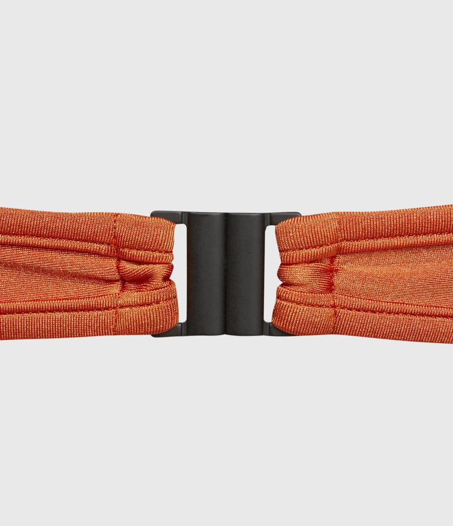 Damen Cara Bikini Top (chakra_orange) - Image 4