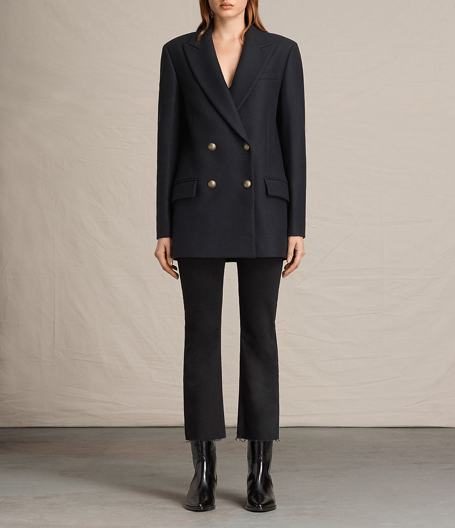 Women's Alice Nesi Coat (ink_blue) - Image 1
