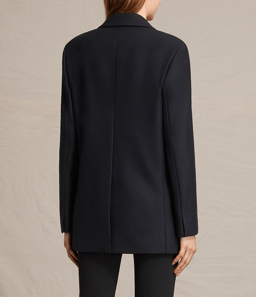 Women's Alice Nesi Coat (ink_blue) - Image 7