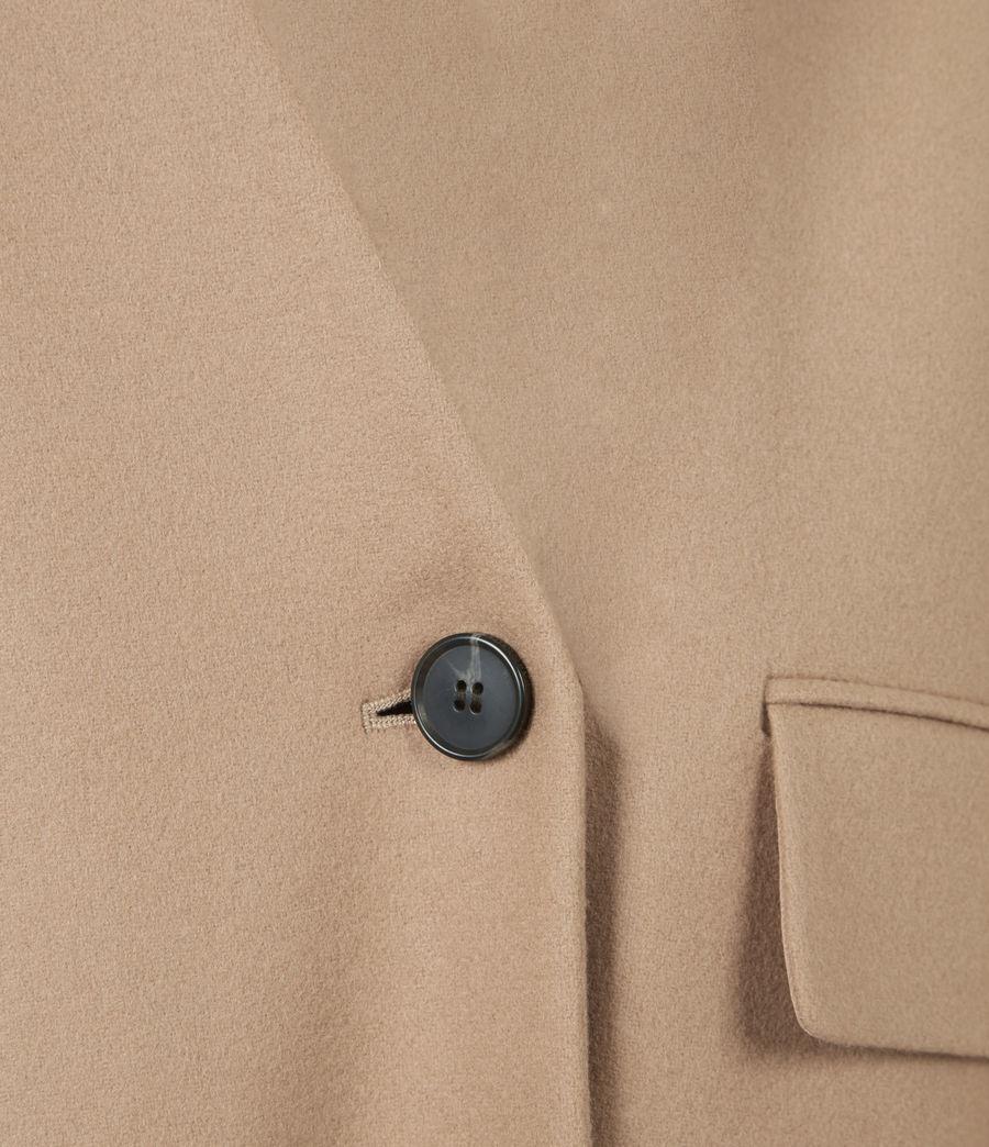Women's Rada Cashmere-Wool Coat (camel_brown) - Image 6