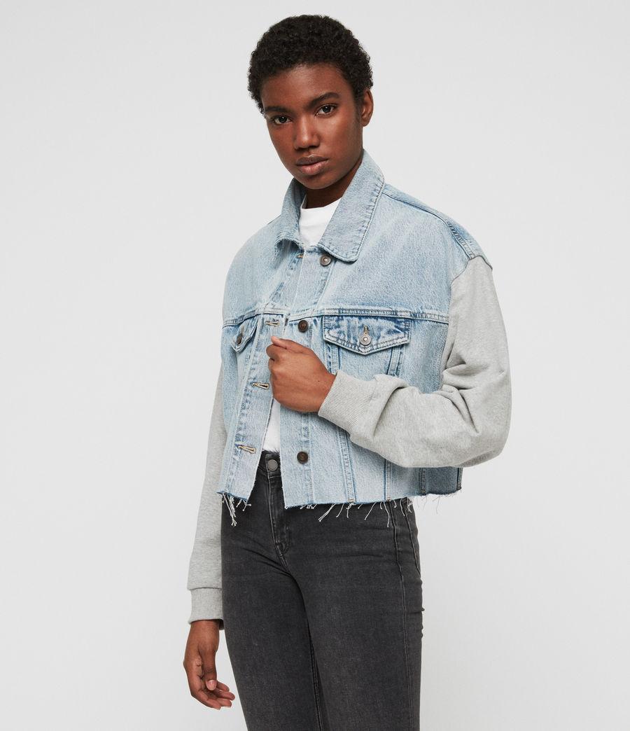 Womens Anders Denim Jacket (ice_blue) - Image 4