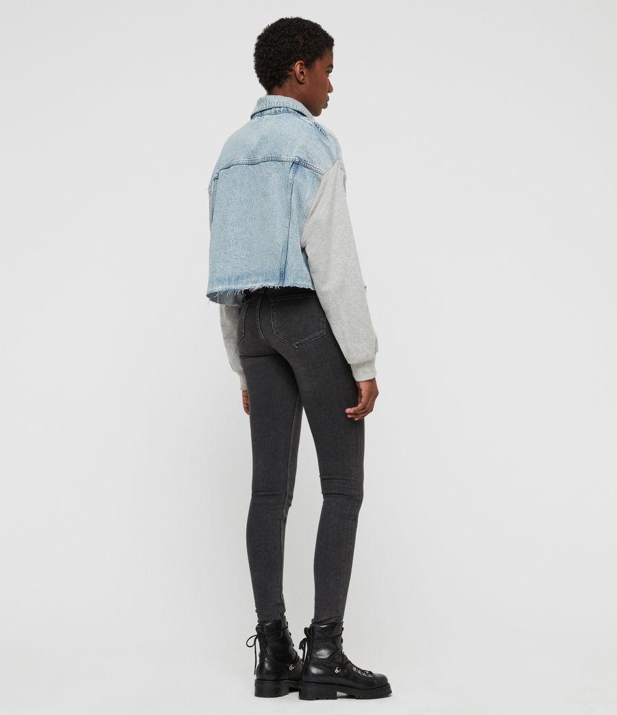 Womens Anders Denim Jacket (ice_blue) - Image 5