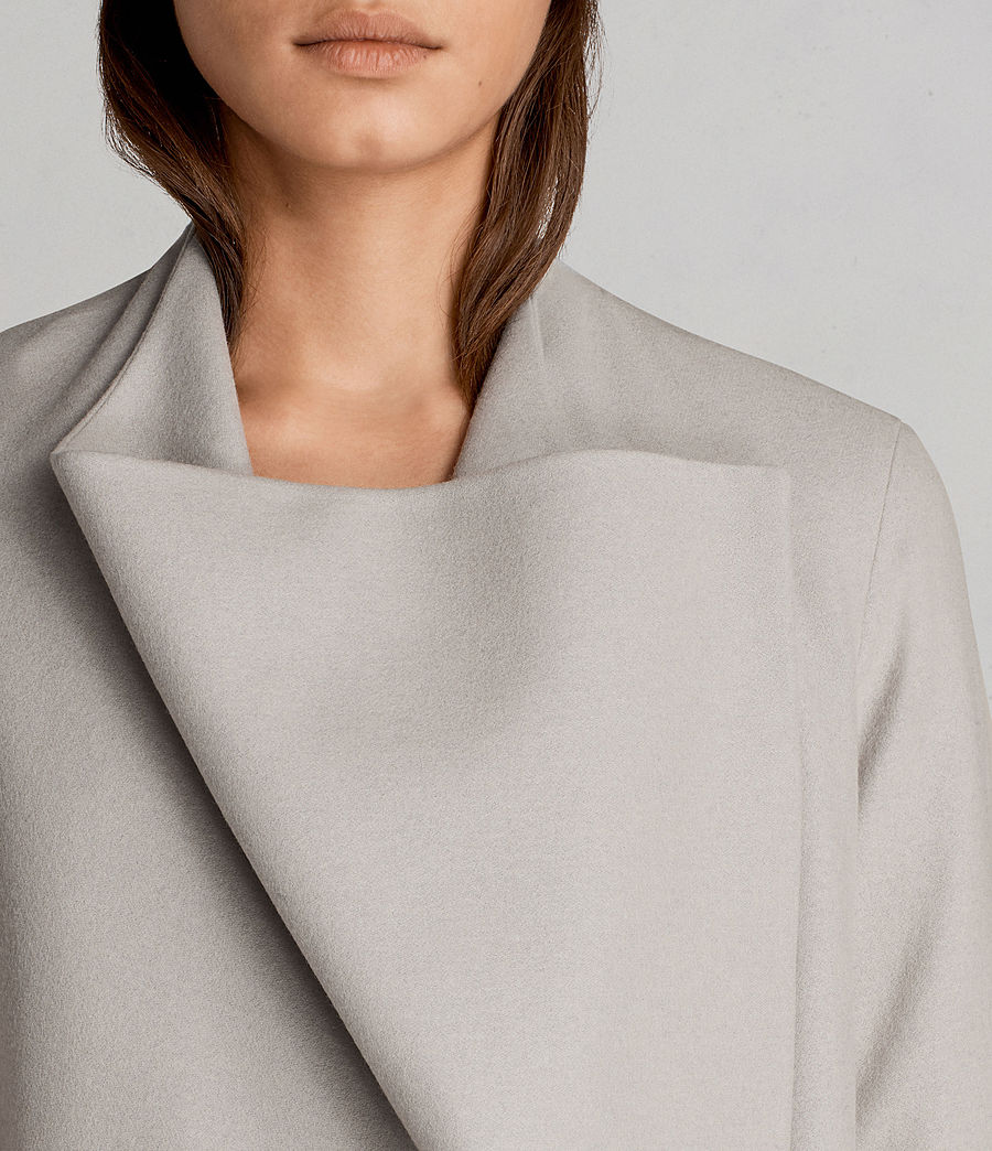 Donne Cappotto Ora (pebble_grey) - Image 2