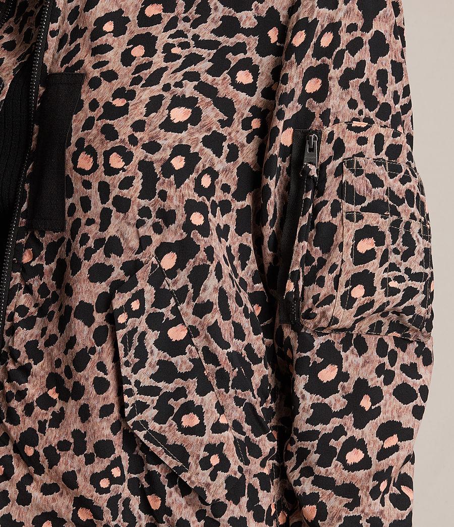 Femmes Bomber Ella Lyos en soie (blush_pink) - Image 2