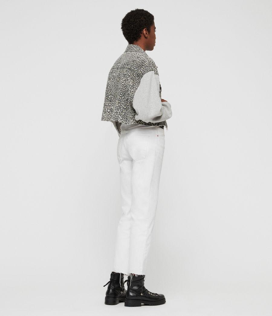 Womens Anders Denim Jacket (leopard) - Image 5