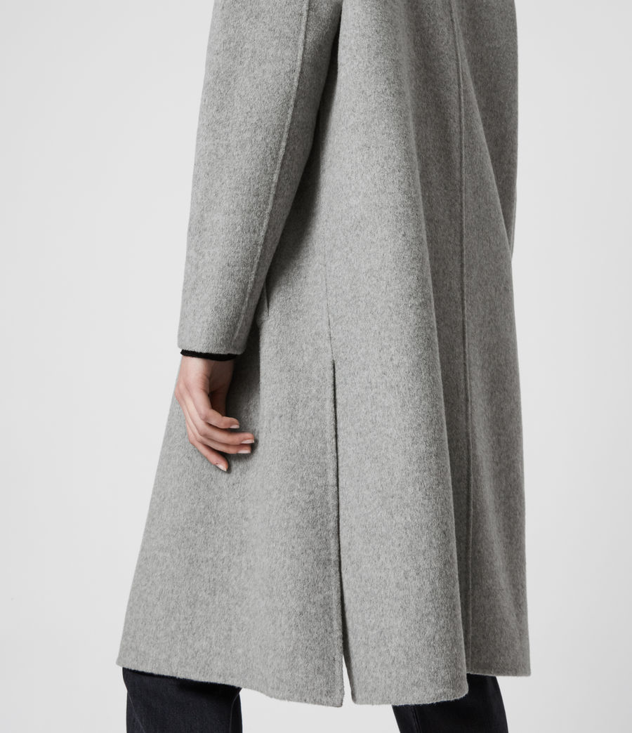 Women's Ryder Coat (pale_grey) - Image 4