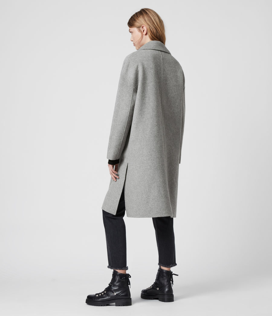 Womens Ryder Coat (pale_grey) - Image 4