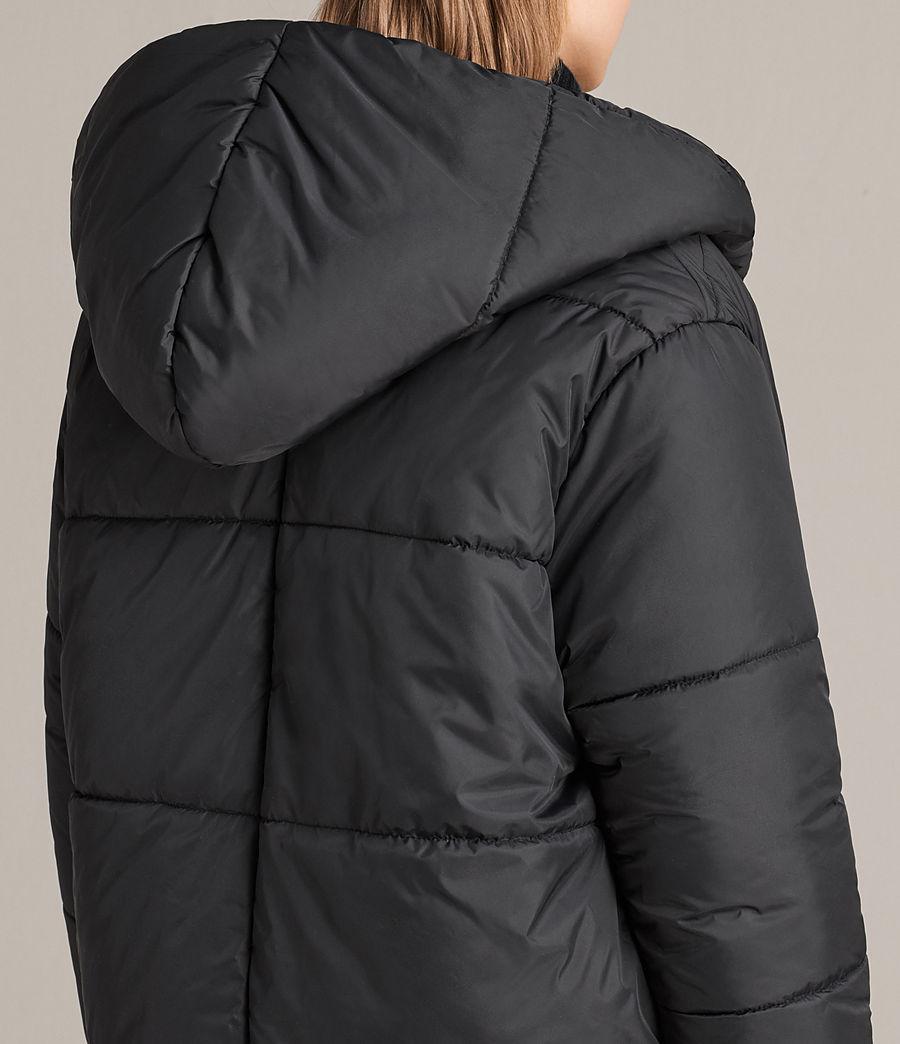 Women's Sara Reversible Puffer (black) - Image 8