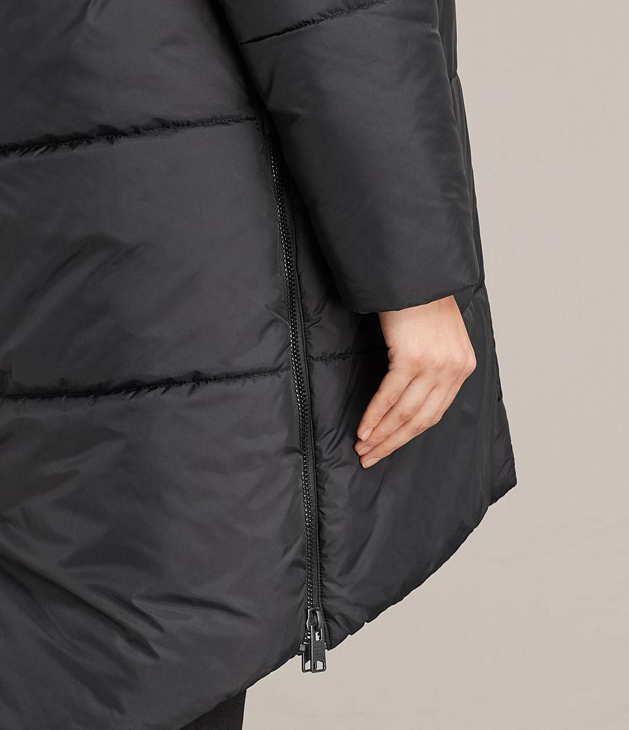 Women's Sara Reversible Puffer (black) - Image 9