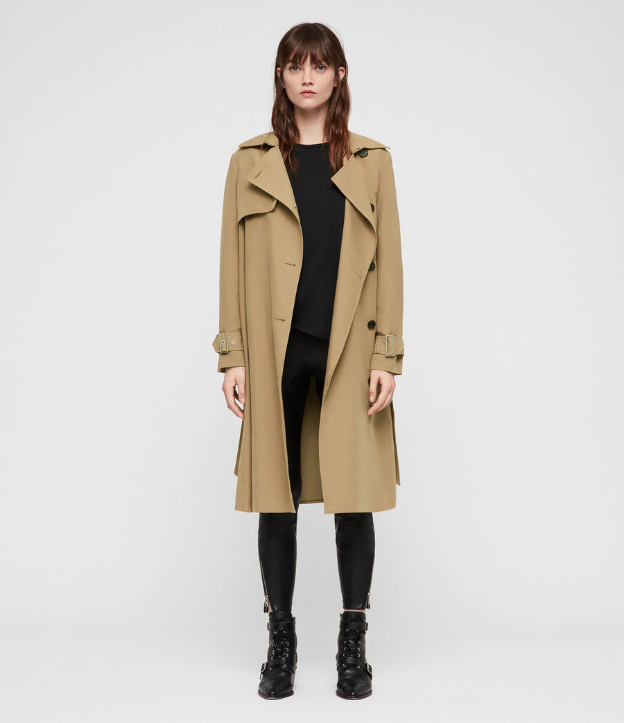 Donne Trench Myla (tawny_brown) - Image 1