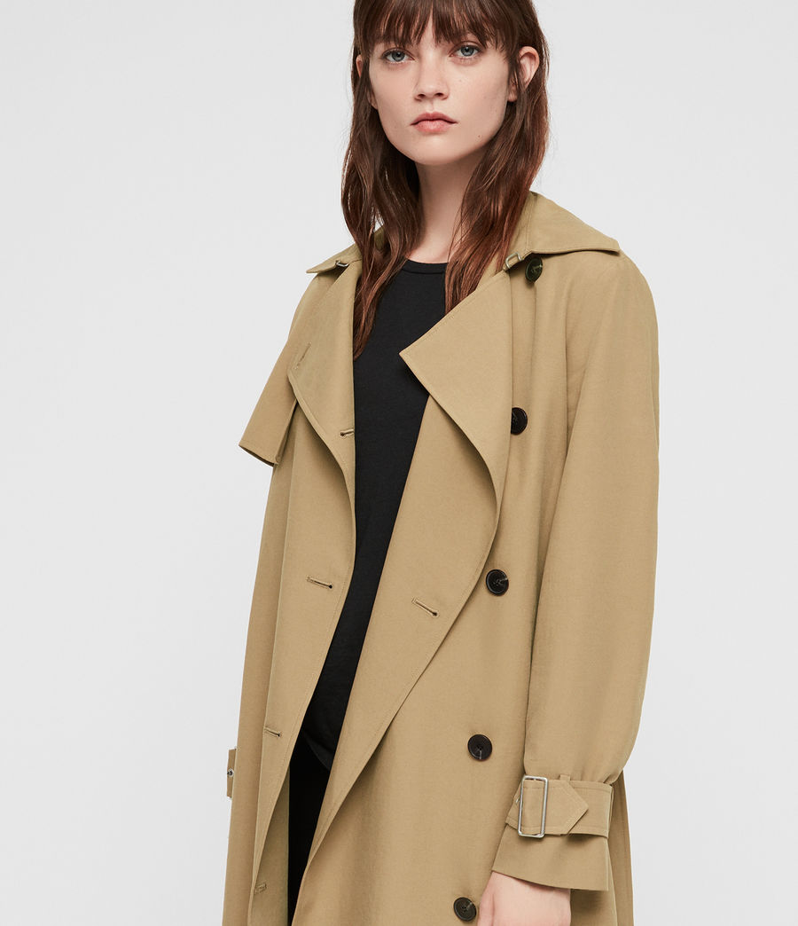 Donne Trench Myla (tawny_brown) - Image 2
