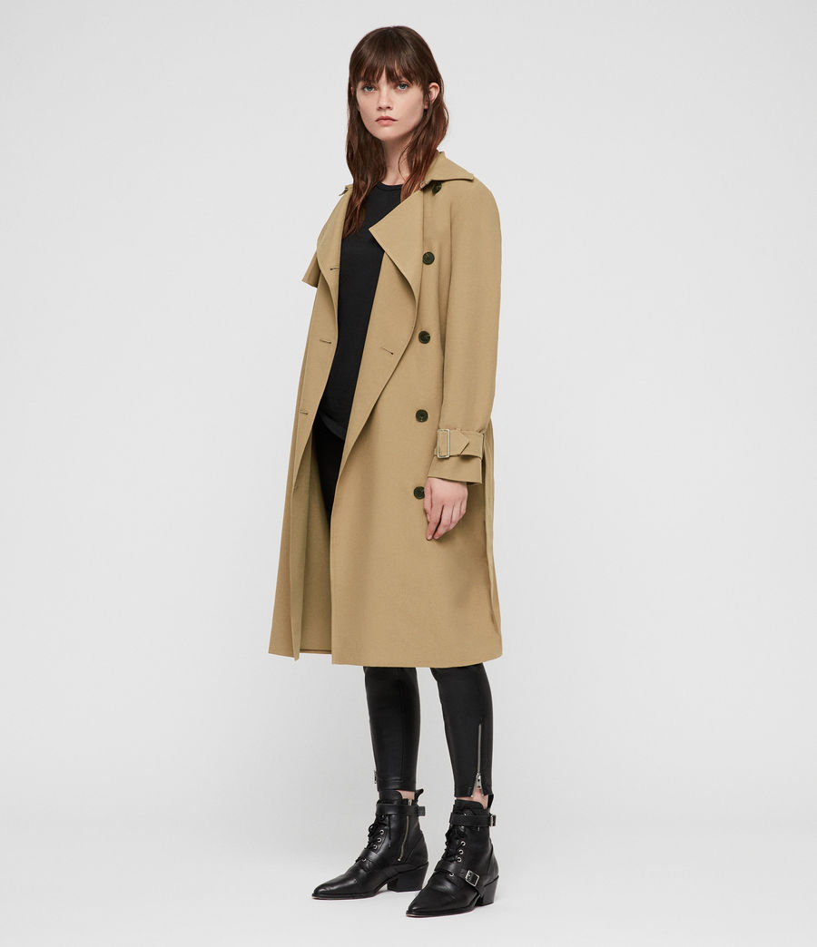 Donne Trench Myla (tawny_brown) - Image 3