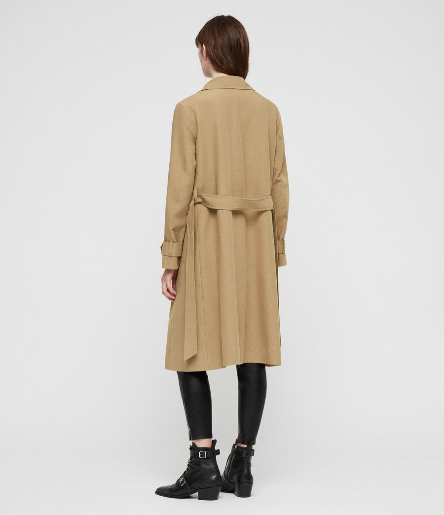 Donne Trench Myla (tawny_brown) - Image 4