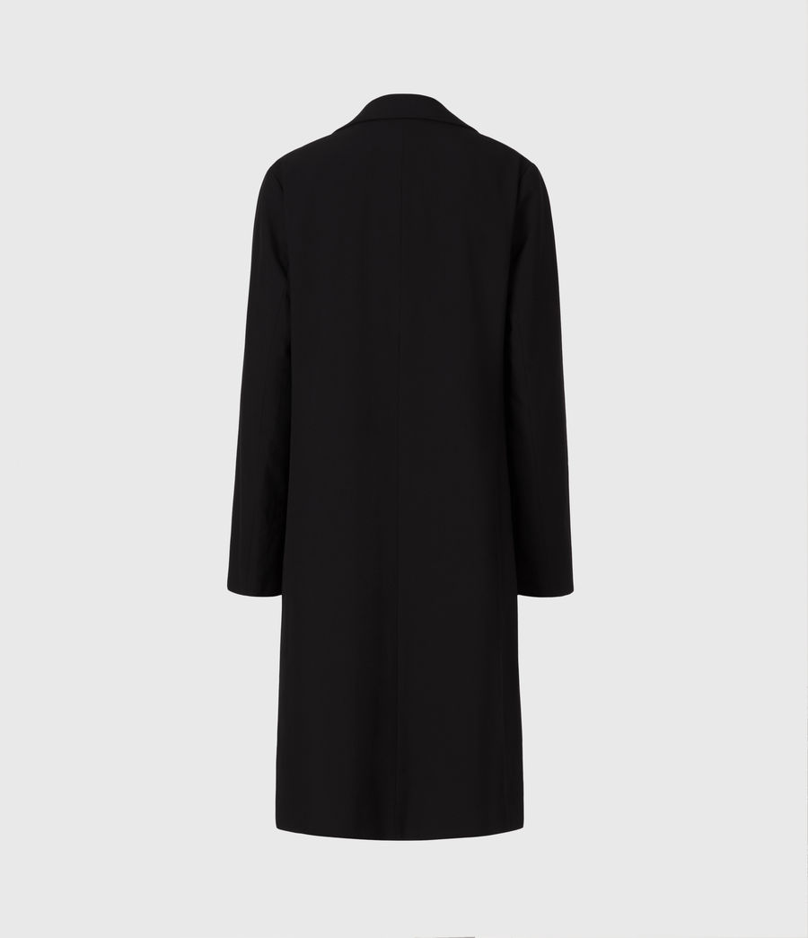 Women's Aleida Duster Coat (black) - Image 3