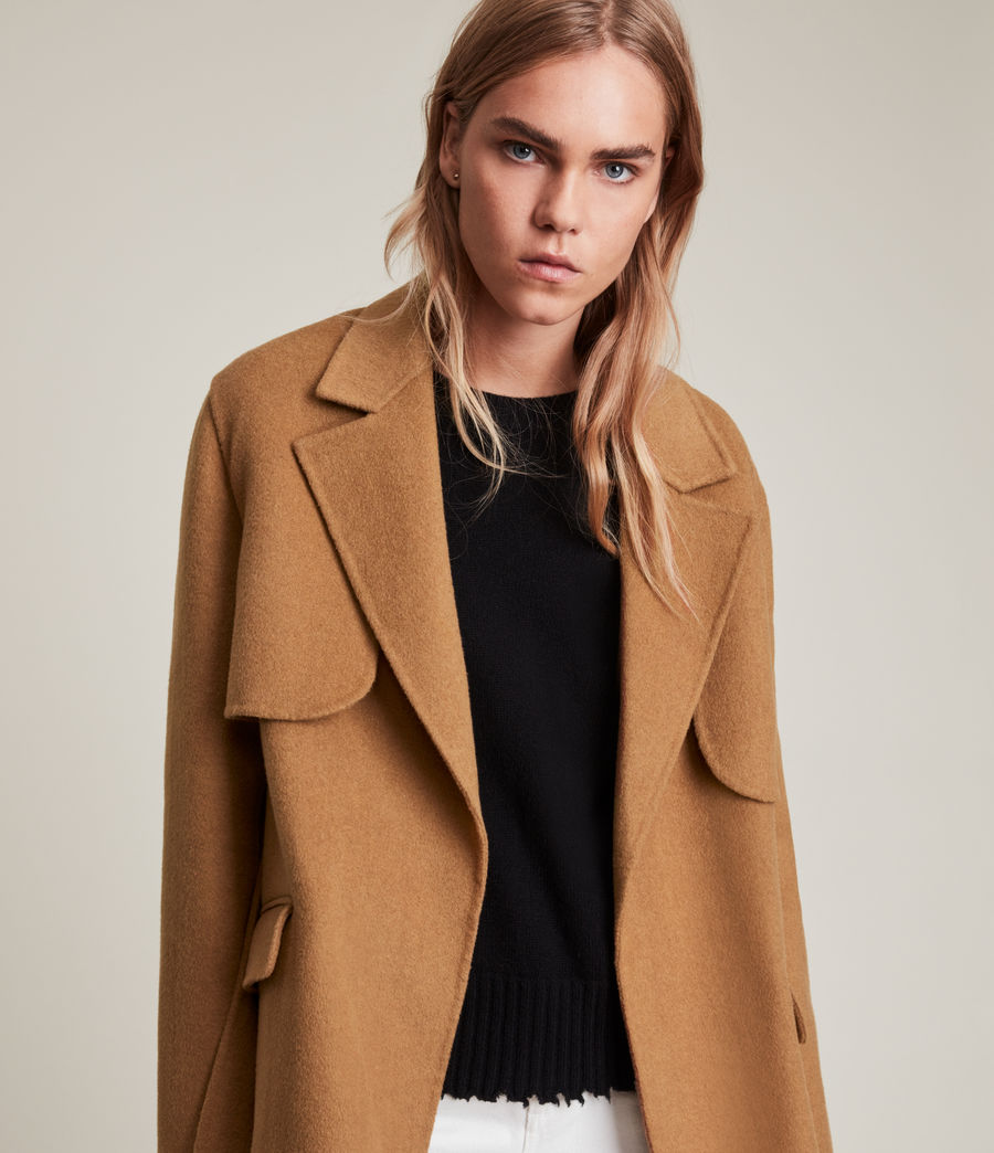 Women's Bree Coat (caramel_brown) - Image 2
