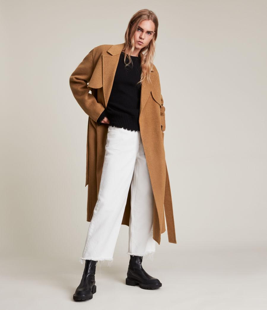 Women's Bree Coat (caramel_brown) - Image 3