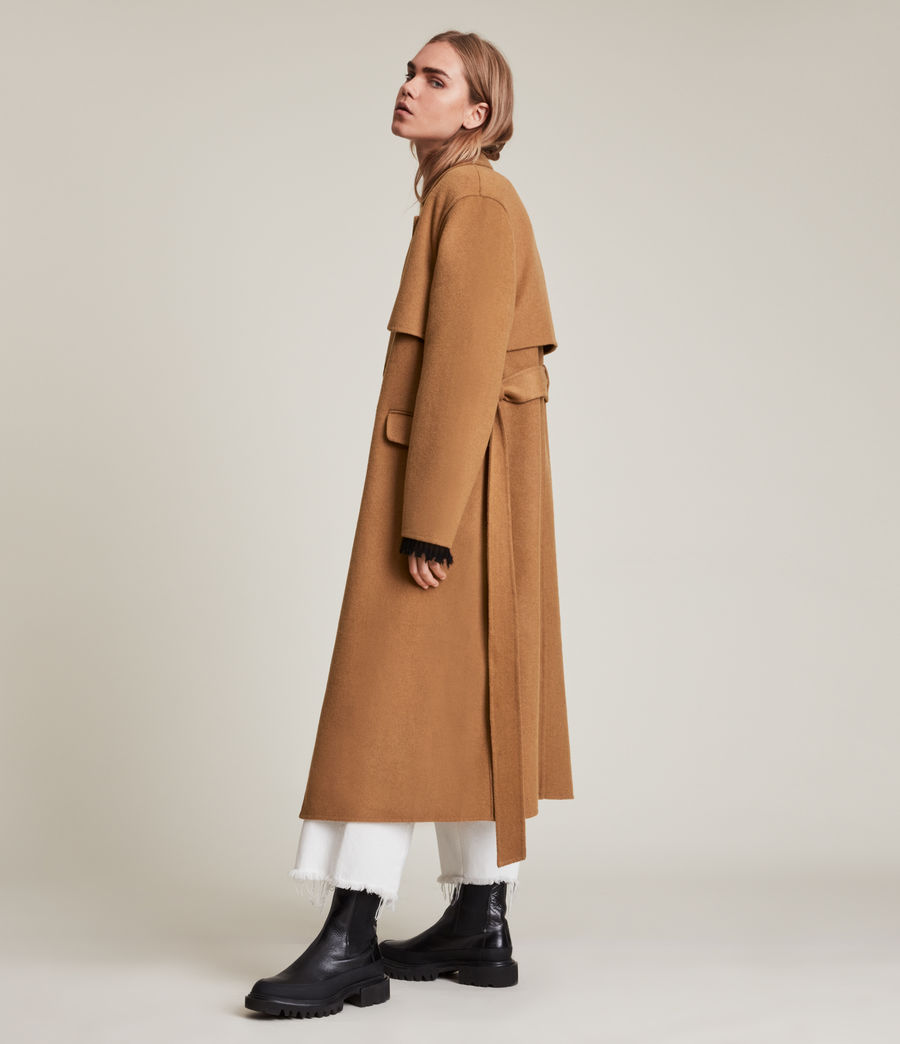 Women's Bree Coat (caramel_brown) - Image 4
