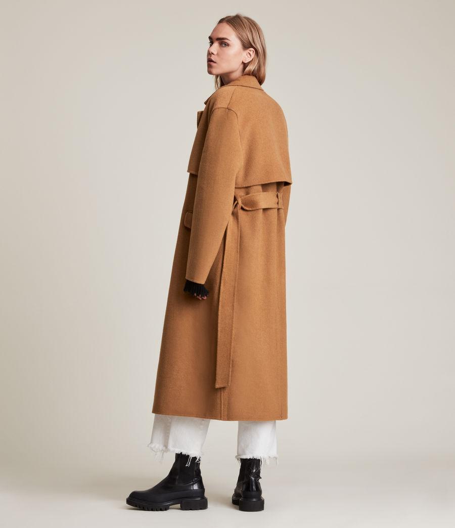 Women's Bree Coat (caramel_brown) - Image 7