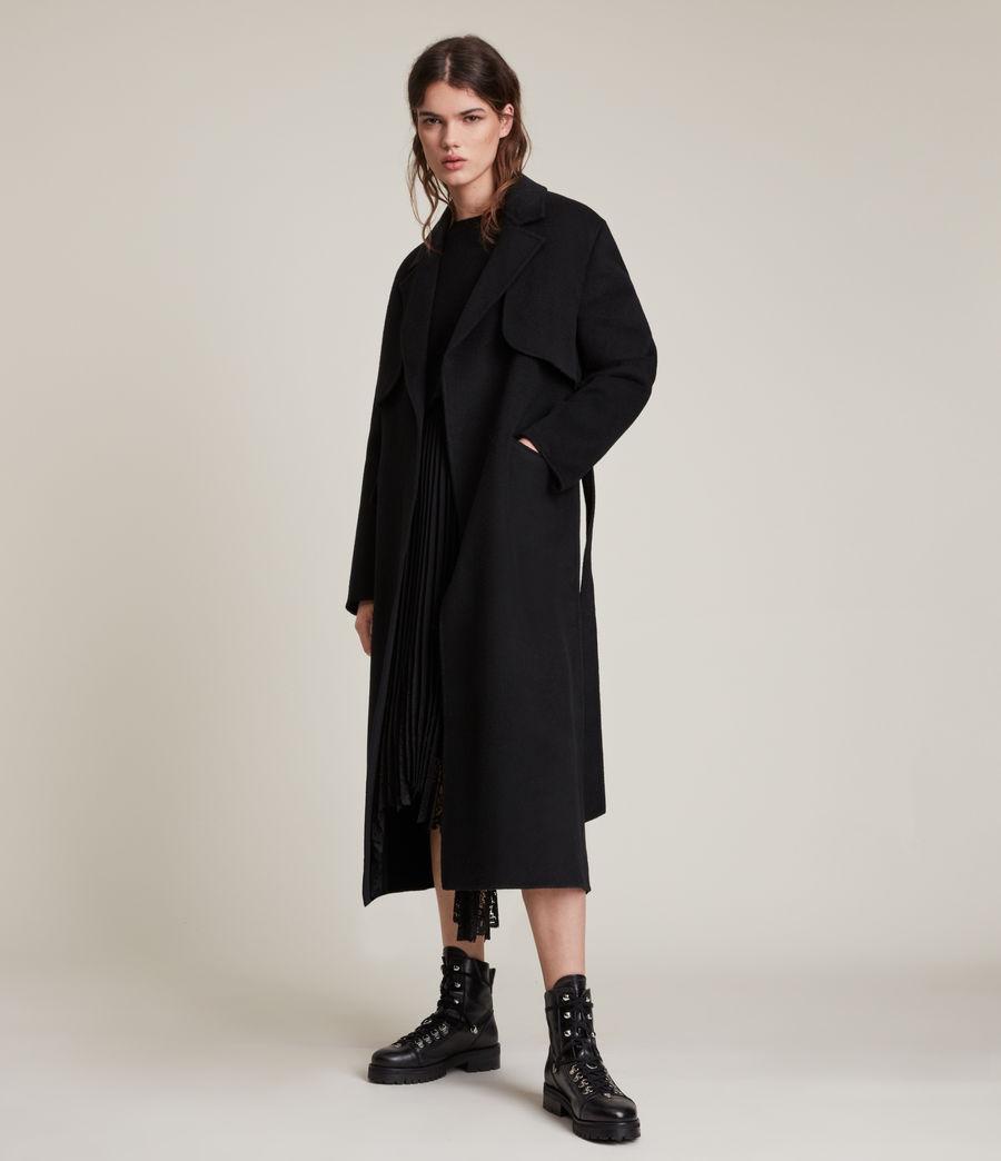 Women's Bree Coat (black) - Image 1