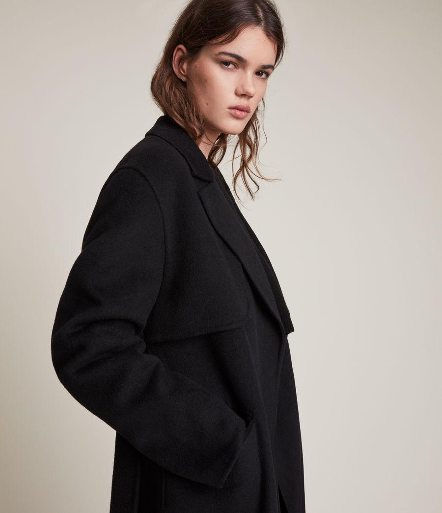 Women's Bree Coat (black) - Image 2