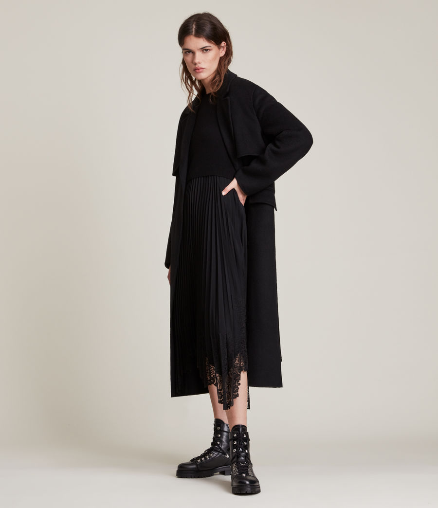 Women's Bree Coat (black) - Image 3