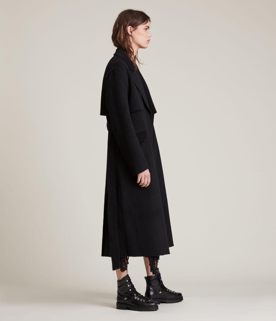 Women's Bree Coat (black) - Image 4